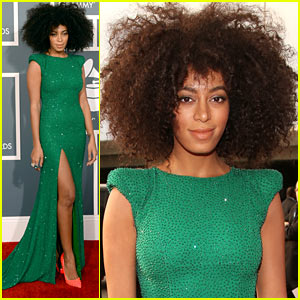 solange-knowles-grammys-2013-red-carpet